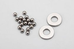 1/16 Tungsten Carbide Ball (16pcs)