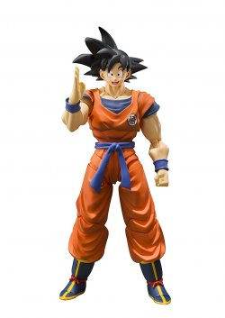 SH Figuarts Son Goku -The Saiyan Grew Up on E
