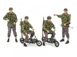 35337 1/35 British Paratroopers - w/Small Mot