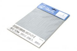 Plastic Plate (Gray) Graduated (White) 1.0mm