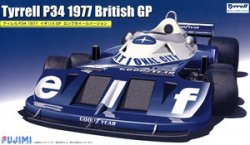 GP59 Tyrrell P34 1977 British GP 1/20