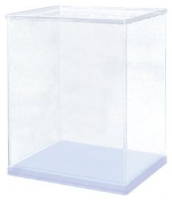 Kn11CL Model Cover Square Clear Medium