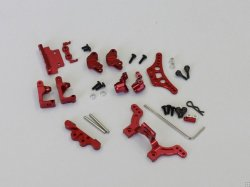 MBW2013AR Aluminum Strengthening Parts Set for MB-010 Red