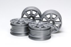 Tamiya RC Mini Cooper S 2006 Wheels - 4pcs