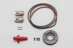 Full Counter Solid Axle Set for DRB (Rear x1.3 /Red)