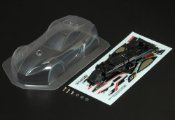 15481 Body Set Torcruiser - Clear Polycarbonate