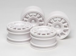 11 Spoke Racing Wheels - M-Chassis (4pcs)