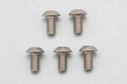ZC-BH36T Titanium Button Head Socket Screw M3?6㎜ (5pcs)
