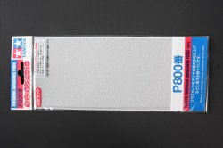 87056 Finishing Abrasives P800 - 3 Sheets