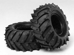 Tamiya RC Monster Pin Spike Tire Set - (2pcs.)