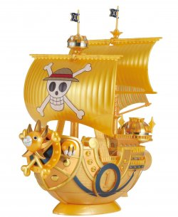 Grand Ship Collection Thousand Sunny One Piece Film Gold Color