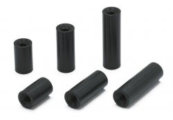 0036-15 Multi-Spacer 20mm Inner Threaded M3 Black 2pcs