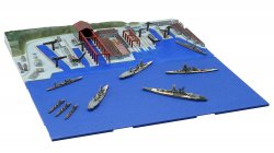 1/3000 1945 Kure Naval Port Remaining Warship