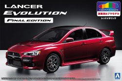 1/24 Mitsubishi CZ4A Lancer Evolution X Final Edition `15 Red M