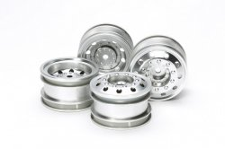 51588 On Road Racing Truck Wheels - F/R 2pcs