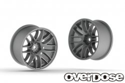 OD2338 WORK EMOTION M8R (Matte Chrome / OFF+5)