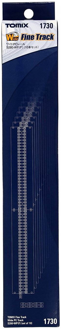Fine Track Wide PC Track S280-WP(F) (Set of 10)