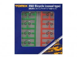 3582 Bicycle Casual Type 8pcs