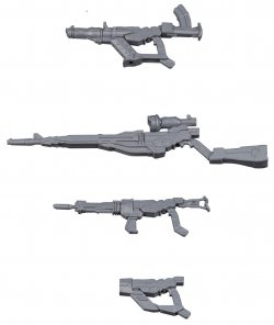 HGBC GM/GM Weapons