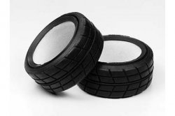 Tamiya RC Racing Radial Tires - Med Narrow