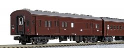 10-034 Old Passenger Car Set (Brown) (4-Car S