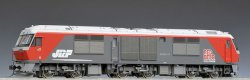 1/80 HO J.R. Diesel Locomotive Type DF200-100