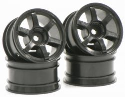 SPA-187 Mini VOLK Racing TE37 Black Offset 2m