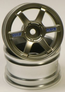 SPA-317 mini VOLK Racing TE37 Gun Metal 2pcs