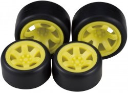 CP-007 Tire & Wheel Set03 (23/26 Wide)