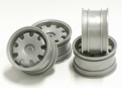 SPA-141 Mini 9 spoke Wheels Gray 4pcs