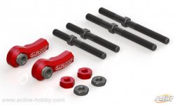 STR298R Front upper arm T link set for Yokomo Drift package
