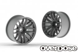 OD2345 WORK EMOTION M8R (Matte Chrome / OFF+7)