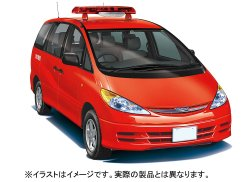 INCH-UP Series Toyota Estima (Fire Engine Public Relations Car)