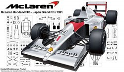 McLaren Honda MP4/6 Japan Grand Prix 1991