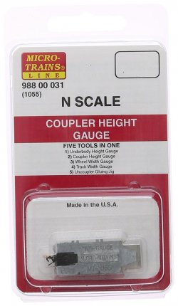 11-716 1055 Coupler Height Gauge Five Tols In