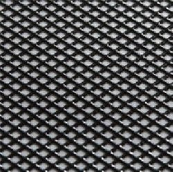0005-19 REAL 3D Grill Decal Black on Black 130x75mm (Fine Cross