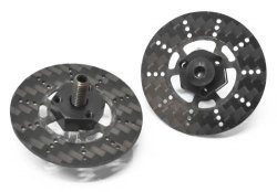 0486-FD Combination Front Axle Ver2 w/ Carbon Brake