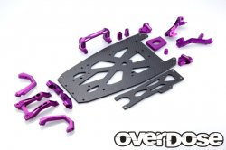 OD2249 XEX Carbon Chassis Kit / Purple (XEX / Vspec / Spec.R)