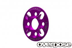 OD1654 Spur Gear Support Plate Type 4 (Purple)