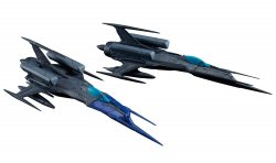 [PRE ORDER] Type 0 Model 52 bis Autonomous Space Fighter Black