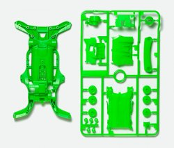 95255 AR Chassis Set - Fluorescent Color Green