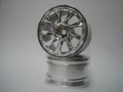 SPA-263 mini L Type Chrome Silver Wheel Offse