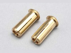 RP-054 Racing Performer 24K Battery Connector (5mm / 2pcs)