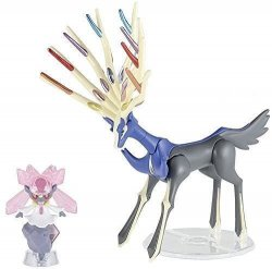 Pokemon Plastic Model Collection Select Series Xerneas & Diancie