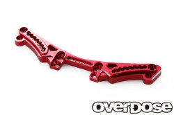 OD1678 Aluminum Rear Shock Tower Red for Vacula