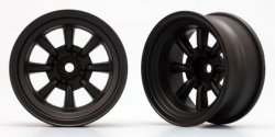 RS WATANABE 8 Spoke Wheel(Black) Off-set 12mm