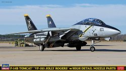 F-14B Tomcat `VF-103 Jolly Rogers `w/High Details Nozzle Parts