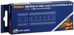Walls for Wide Tracks S18.5/S33/S99 Set of 8