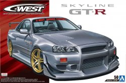 C-West BNR34 Skyline GT-R 02 (Nissan)