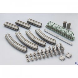 91027 Fine Track Rail Set Single Track Viaduc